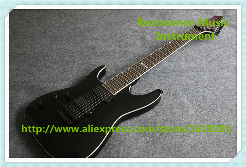 New Arrival Glossy Black Left Handed 7 String Guitar Electric China Custom Shop For Sale new arrival glossy black left handed 7 string guitar electric china custom shop for sale