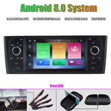 Octa-Core Android 8.0 CAR DVD Player for DECKLESS FIAT OID PUNTO Auto RADIO STEREO GPS navigation