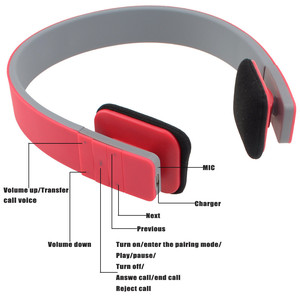 Image 3 - Colorful Sports Wireless Headphone Bluetooth Headset Stereo Fashion Adjustable Headphones With Mic Handsfree For Smartphone