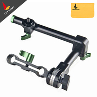 Hot Sale Lanparte Smart Design Magic Arm MA 02 with Rosette Lock &15mm Single Rod Clamp For LCD HDMI Monitor LED Light