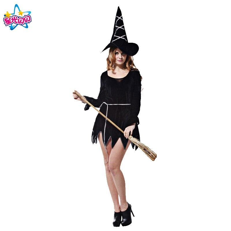 Gratis frakt Mode Halloween Kostym Vuxna Kvinnor Sexig Plus Storlek - Maskeradkläder och utklädnad - Foto 4