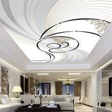 3D стены Бумага заказ росписи нетканые печатных стены Бумага абстрактный Книги по искусству Гостиная потолка крыши 3D стены комнаты стены бумага фрески 3D