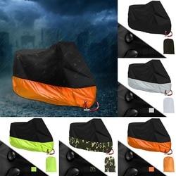 Tahan Air Sun Motor Cover E-Sepeda Penutup Hujan Outdoor Debu Sinar UV Pelindung Portable Moto Hujan Berjemur Pencegahan Cover M-4XL
