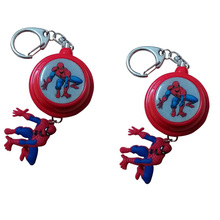 5pcs women Wholesale personalized spiderman personal alarm body guard alarm women attack alarm self defense device