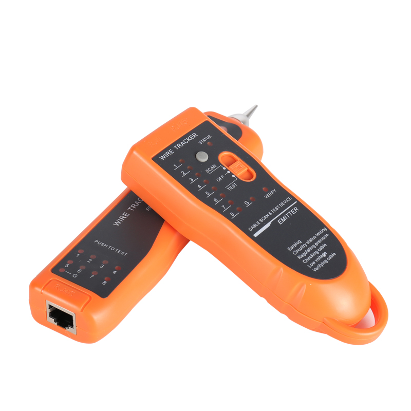 Image 2 - Cable Tester RJ11 RJ45 Cat5 Cat6 Telephone Wire Tracker Tracer Toner Ethernet LAN Network Cable Tester Detector Line Finder-in Fiber Optic Equipments from Cellphones & Telecommunications
