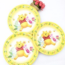 6pcs/lot Winnie the pooh paper plates kids birthday party supplies dishes birthday party supplies  sc 1 st  AliExpress.com & Buy winnie the pooh birthday themes and get free shipping on ...
