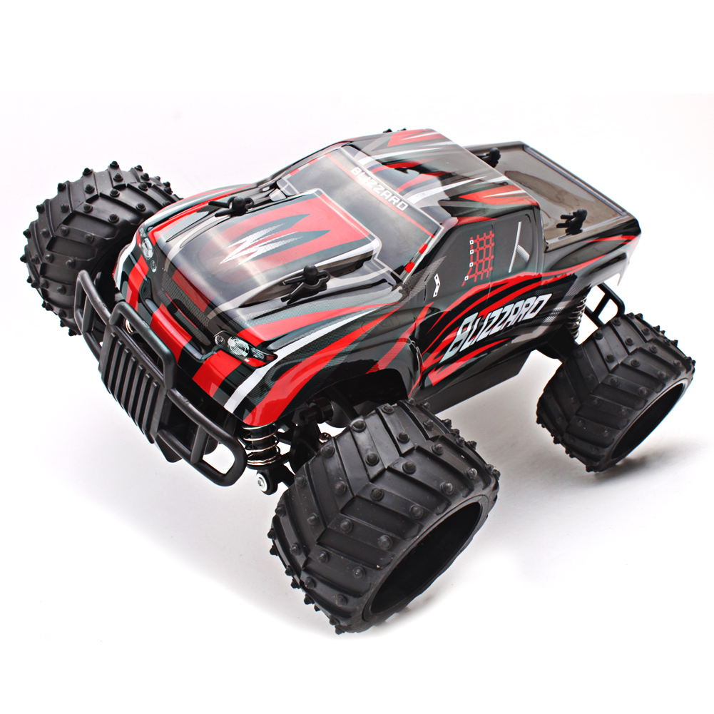 electric rc car 116 scale model 4wd off road high speed remote control car four wheel independent children car red and black in rc cars from toys hobbies