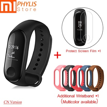 Original Xiaomi Mi Band 3 Sport Smart Band Fitness tracker smart Bracelet Pedometer Heart Rate Touch Screen send wristband strap
