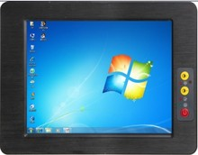 Full IP65 industrial high brightness tablet PC with 1*RS-232/422/485