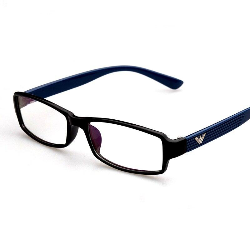 Retro Rechteck Form Exquisite Klar Brillen Rahmen Männer Frauen Gemütliche Optische Brillen Computer Brille Brillengestell H414
