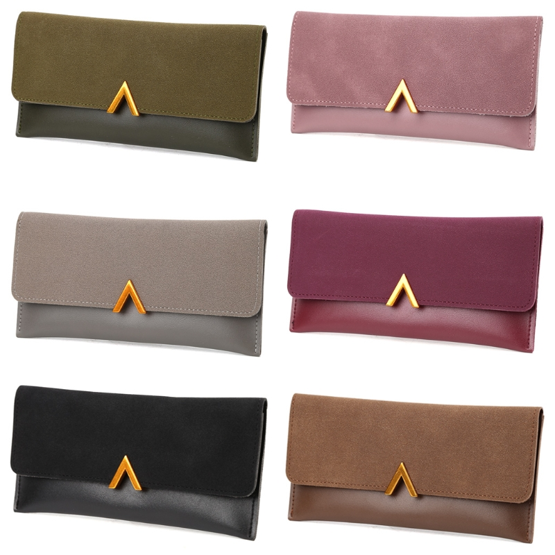 THINKTHENDO Women Lady Fashion Long Leather Purse Wallet Handbags Credit Card Holder Solid Clutch Coin Phone Bag