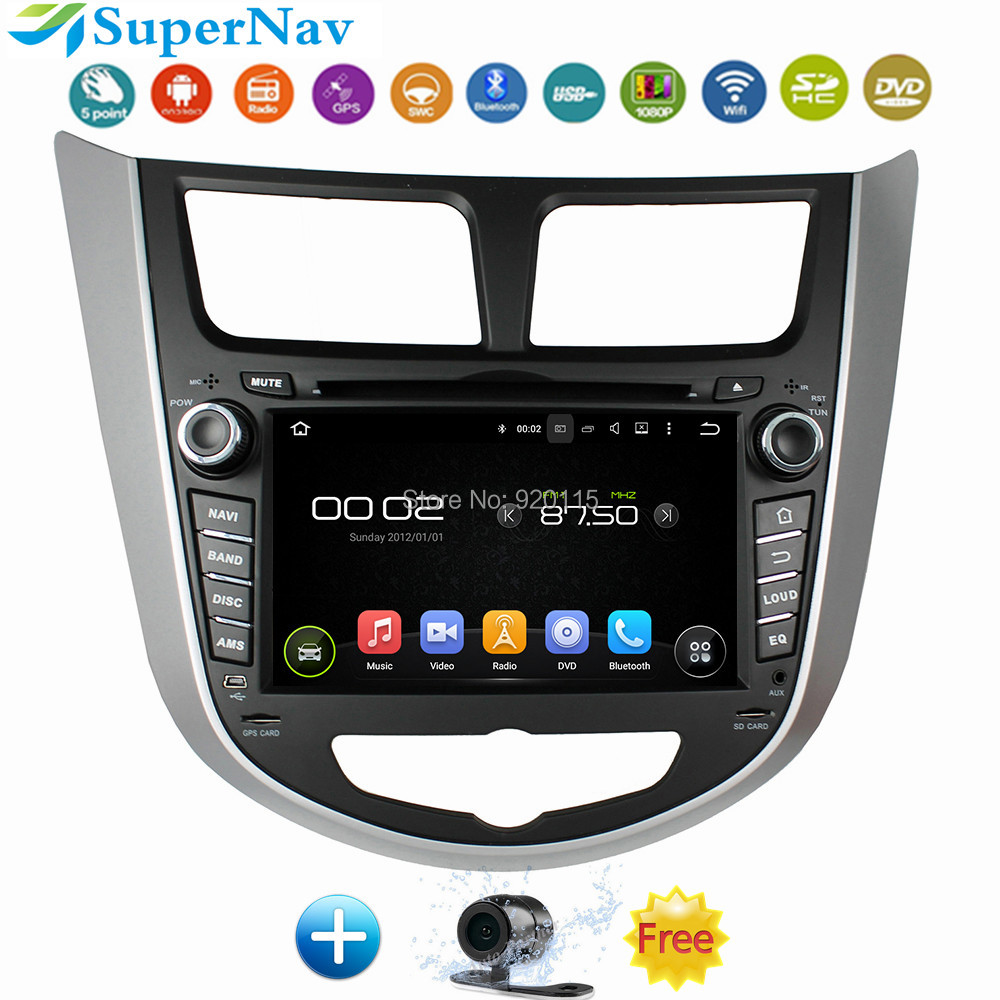 US $392 91  2 din CAR DVD player for Hyundai Solaris accent Verna i25 with  DVD navigation GPS Bluetooth radio iPod 3G Wifi usb Free map on