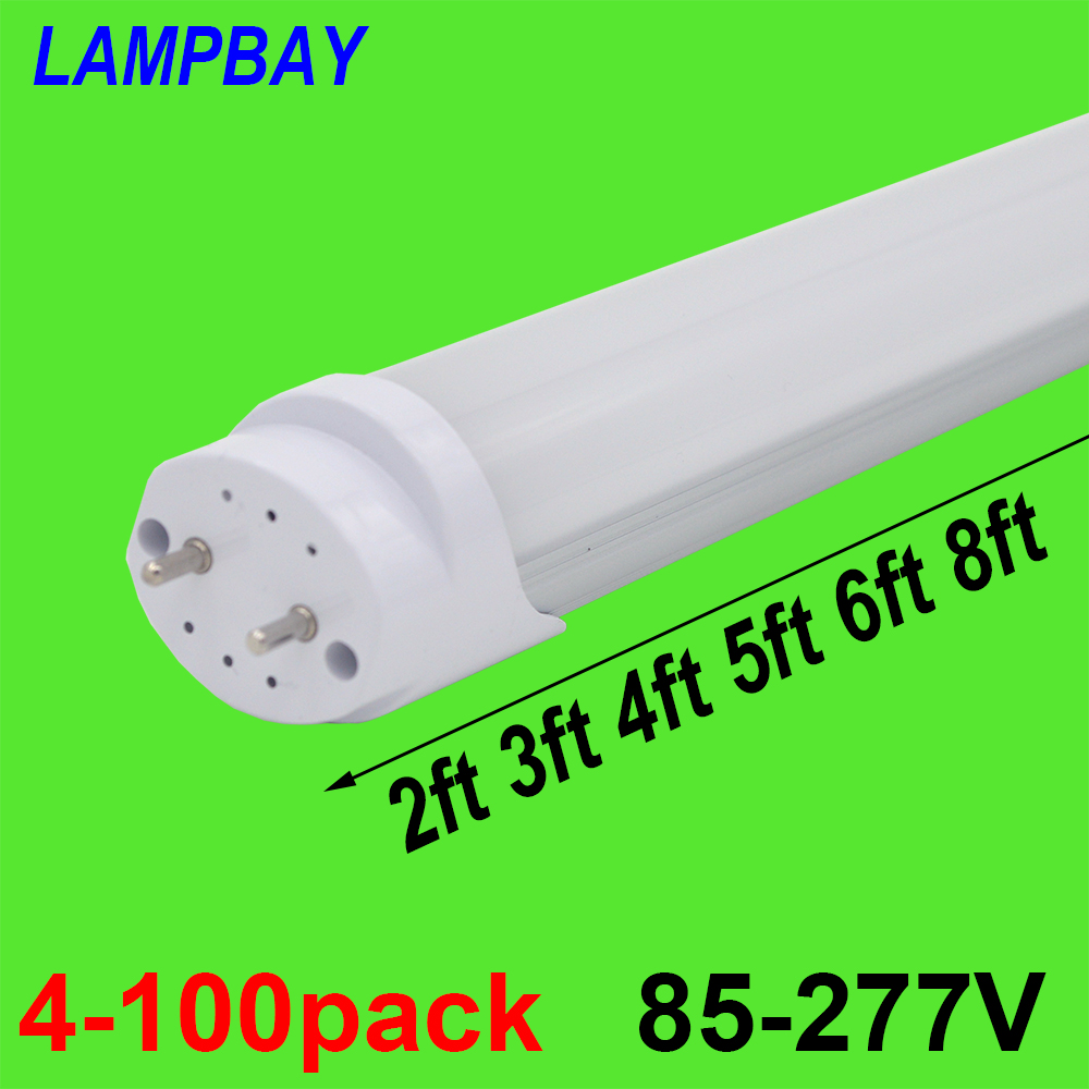 4-100pcs LED Tube Light 2ft 3ft 4ft 5ft 6ft Retrofit Bulb T8 G13 Bi-pin Fluorescent Lamp 0.6m 0.9m 1.2m 1.5m 1.8m Bar Lighting t8 g13 led tube light smd 2835 led lamp fluorescent lamp 10w 2ft 15w 3ft 85 265v led tubes warranty 2 years page 6