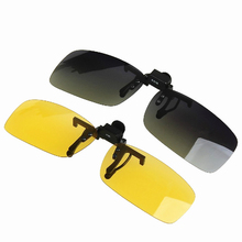 High Quality Flip Up UV400 Clip On Sunglasses Sports Driving font b Night b font font