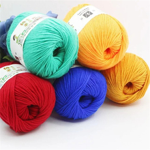 Blended Wool Yarn for Knitting Doll Sweater Beautiful Nami Yarn 50g/pc Free Shipping