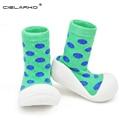 Cielarko muchachos de los bebés zapatos de los niños suave y cómodo attipas mismo diseño primeros caminante zapatos del niño antideslizantes lyj78