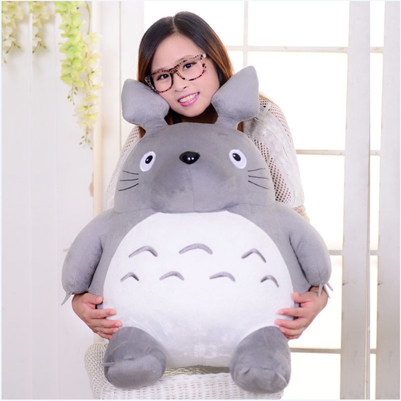 Plush Toy Totoro Cute Soft Stuffed Anime Toys Doll Large Size Pillow Totoro Best Gifts Toys For Children Animation Dolls Gift