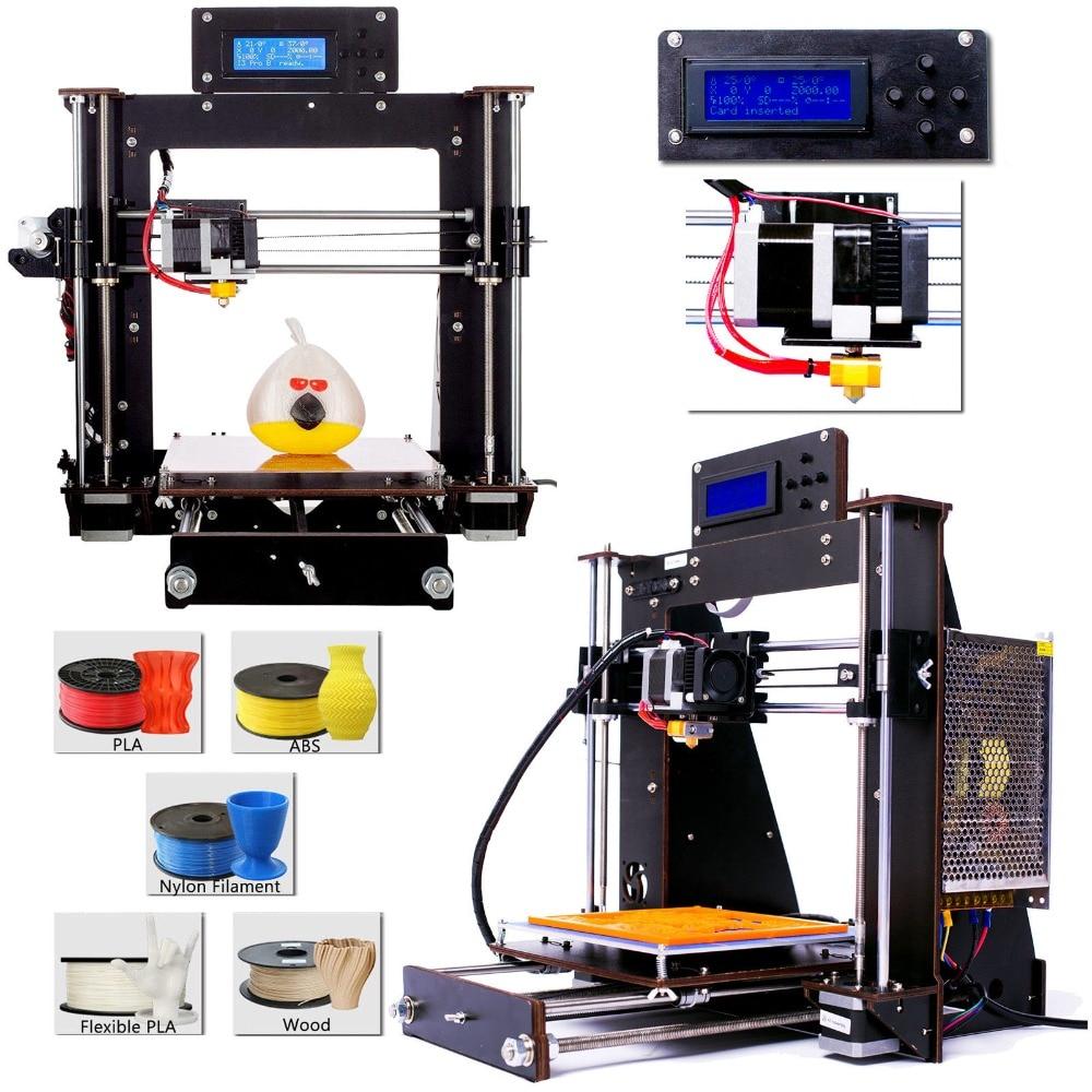 3D Imprimante Reprap Prusa i3 bricolage MK8 LCD Panne DE courant Reprendre Impression Imprimante 3d Drucker Impressora Imprimante DE Stock Europe - 3