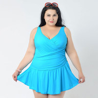 Hot Plus Size Women S Large Size Bikini Set Large One Piece Fat Swimwear Swimsuit Women