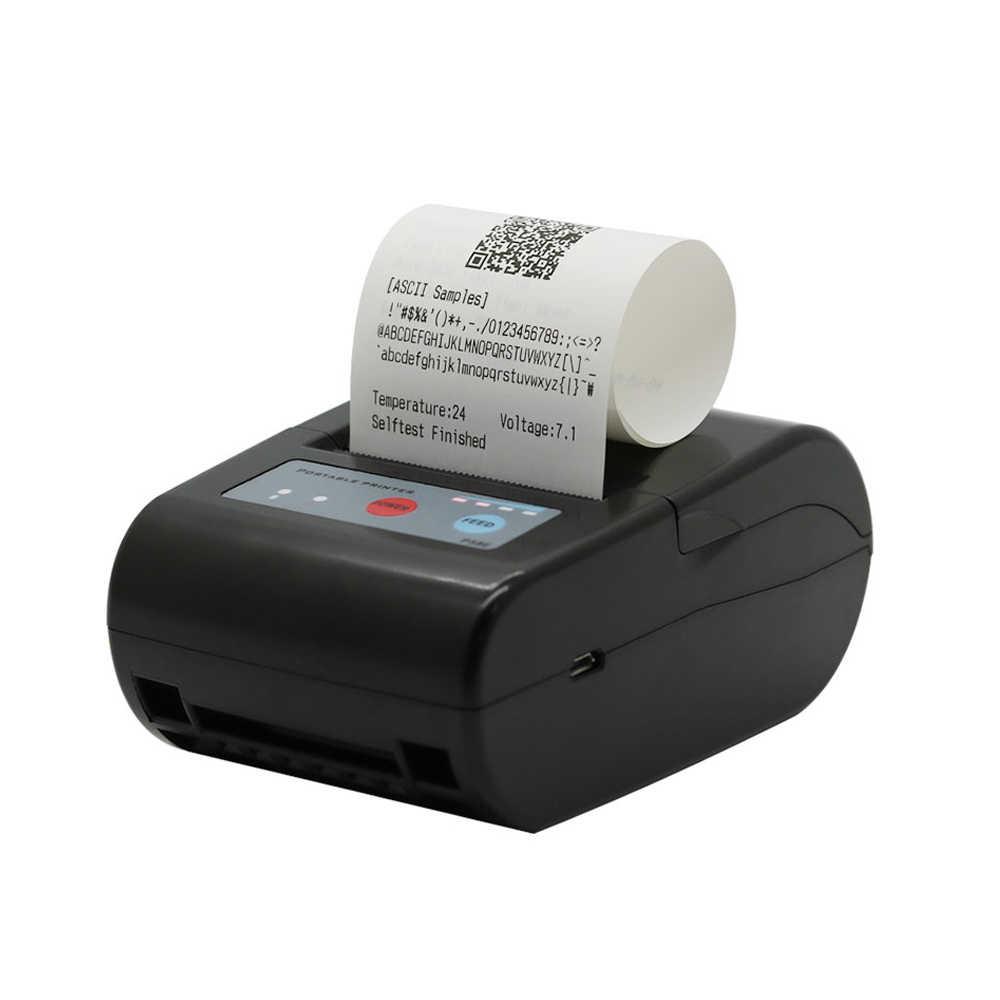 58 мм миниатюрный bluetooth-принтер тепловой принтер Карманный принтер портативная билетопечатная машина для Android/iOS Карманный принтер POS ESC/POS