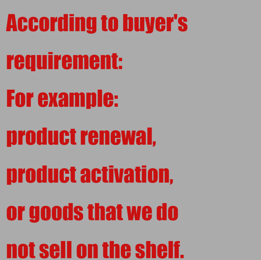 Need goods web site as designated by the buyer Urgent when the