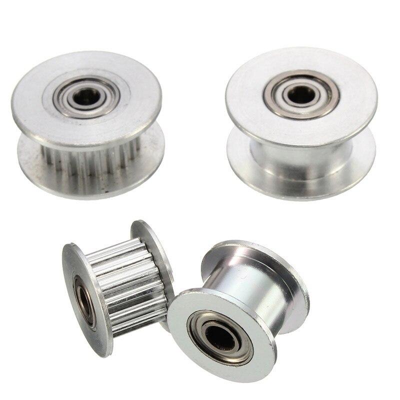 1 Pc Durable 16 T/20 T Gt2 Aluminium Timing Pulley Mit/ohne Zahn Für Diy 3d Drucker Zu Hohes Ansehen Zu Hause Und Im Ausland GenießEn