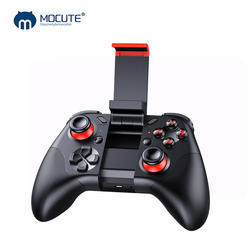 Mocute 054 Bluetooth Steuer Joystick Game Pad Für Smart Telefon Controller iPhone Android Mobile Gamepad Griff Ios Drahtlose PC