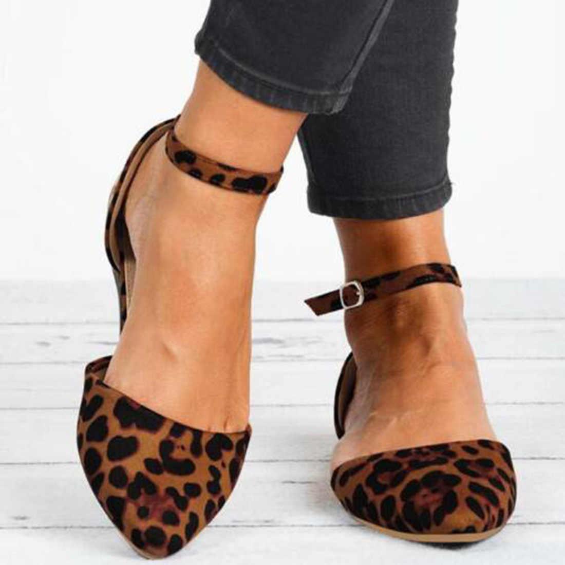 Laamei 2020 Mùa Xuân Mới Cho Nữ Nguyên Khối Vuông Ngón Chân Ba Lê Đế Giày Slip On Giày Thoải Mái Phụ Nữ Nông Phẳng Da Giày