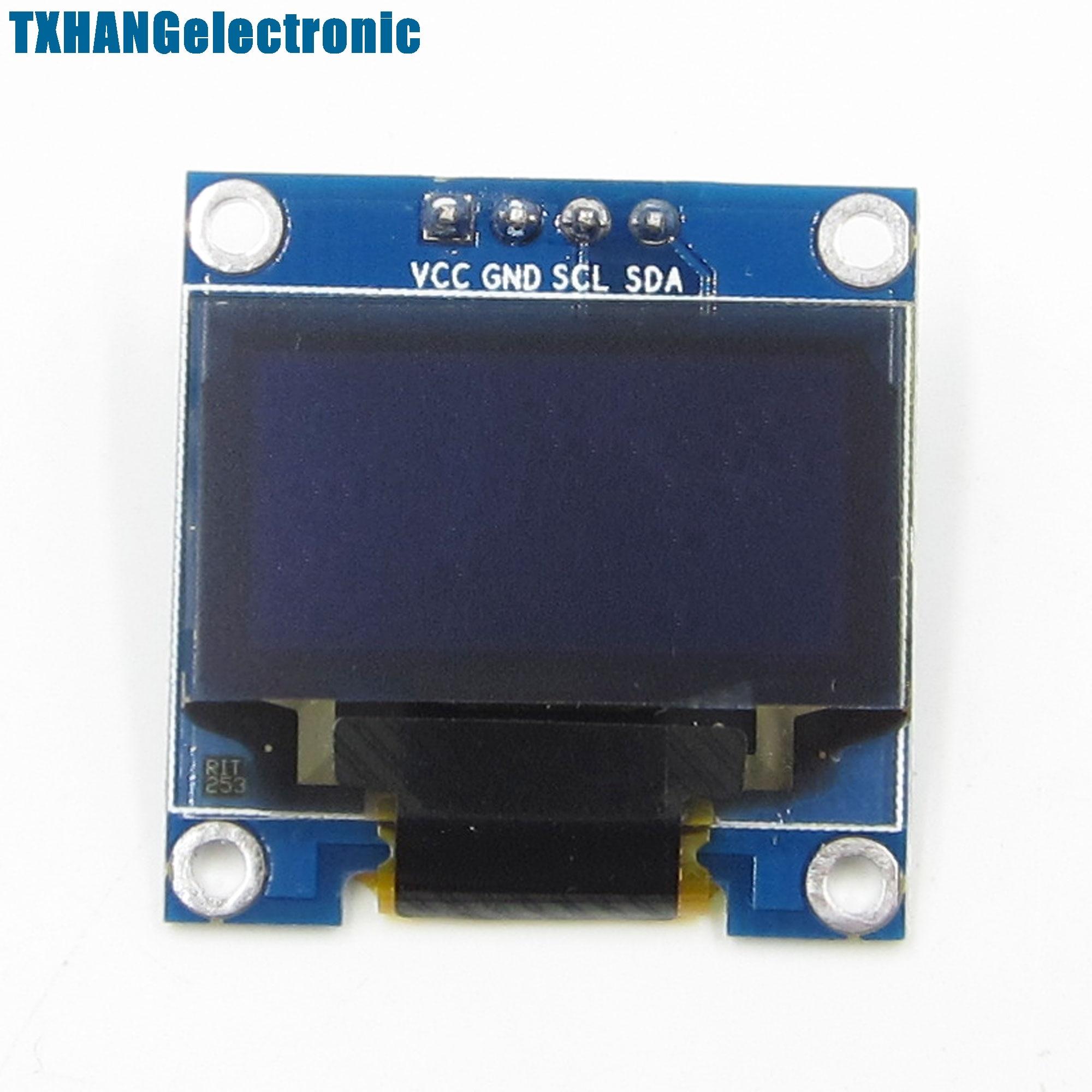 5PCS White 0.96 IIC I2C 128X64 OLED Display Module /M32/AVR/51 for arduino lcd