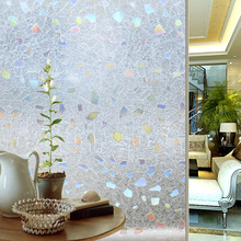Decal Window-Stickers Vinyl-Film Abstract-Design Sunscreen-Glass Anti-Privacy Static-Cling