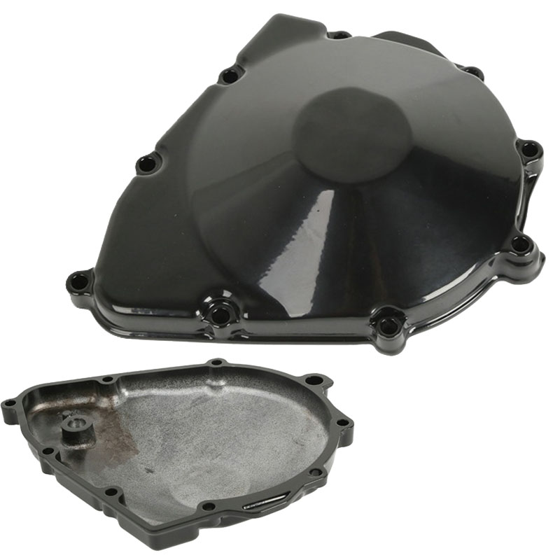 Motor Engine Stator Cover Crankcase Left For Suzuki GSX600F GSX750F KATANA 1998-2006 GSF600 BANDIT 600 1996-2003 Free Shipping for motorcycle suzuki gsxr 600 750 2006 2013 engine stator cover see through chrome left side