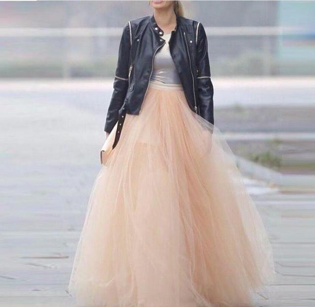 940c6285b02 Высокая Талия Длинные Тюлевая юбка-пачка дешевые Для женщин Юбки для женщин  официальная Вечеринка вечерние