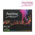 400 Boxes 338cm Anytime Women Feminine Hygiene Anion Cotton Sanitary Napkin Medicated Lady Sanitary Pad SN02