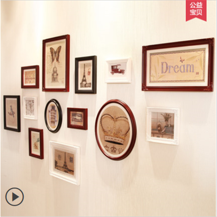 Hot Sale 13 Boxes 3d Wall Decorationwall Mounted Acrylic Photo