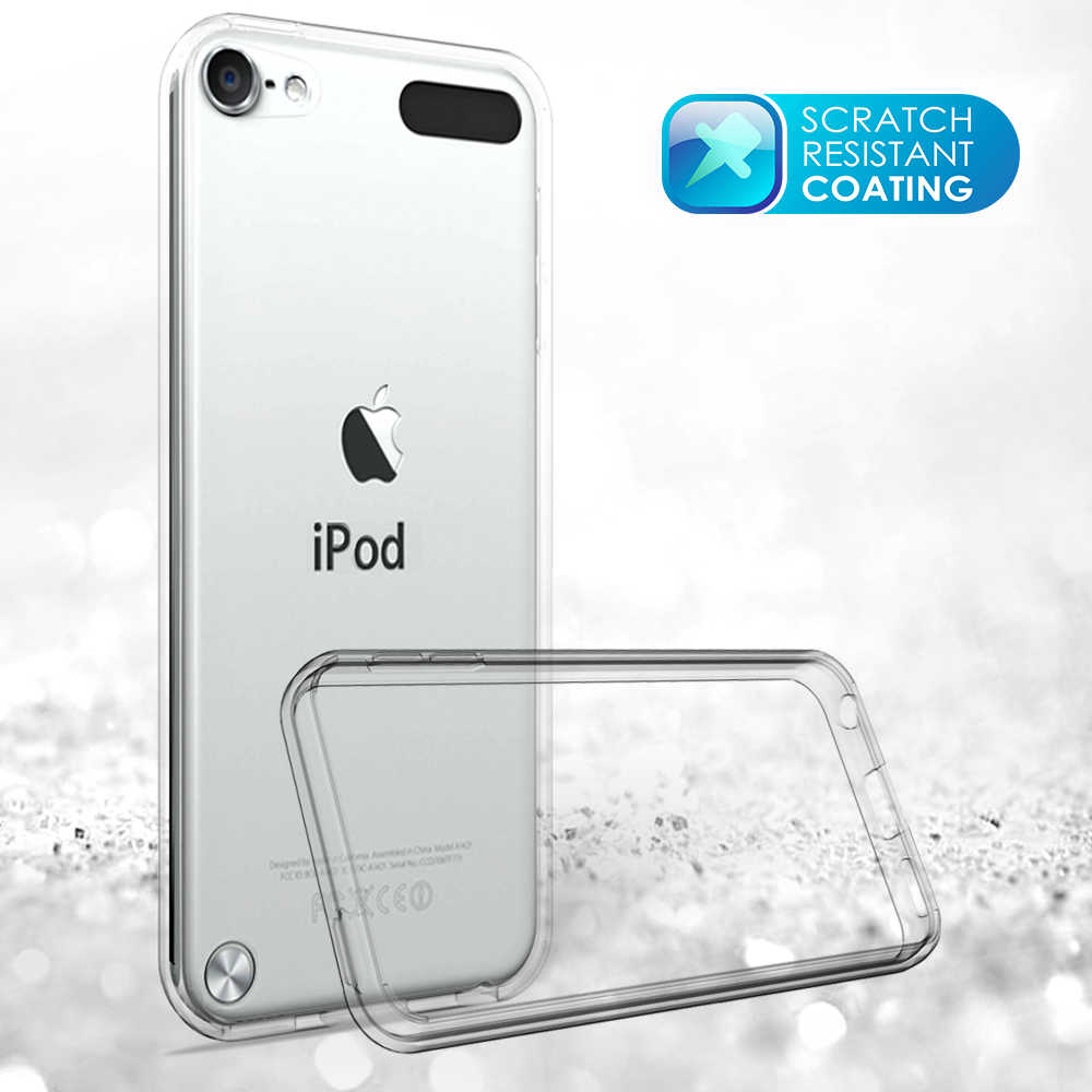 official photos fcc68 95468 for Apple iPod Touch 5 6 Smartphone Case Slim Fashion Silicone Soft bumper  for iPod Touch 5 6 High Quality Crystal Clear