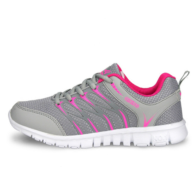 Breathable women casual shoes 2016 fashion flat with mesh women shoes