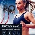 Dacom ipx7 à prova d' água de natação esporte running headsfree headset sem fio bluetooth fone de ouvido estéreo com microfone