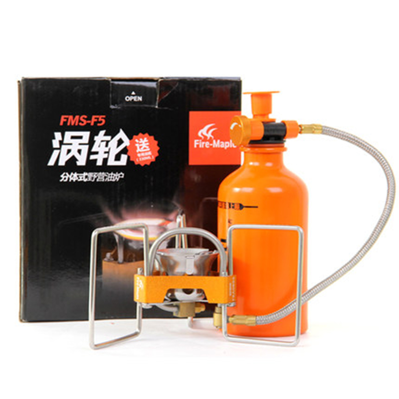 Hot Sale Fire Maple Outdoor Camping Oil Stove High-Power 3200w Split-type Oil Gasoline Stove Fuel Furnace Bottle Pump FMS-F5