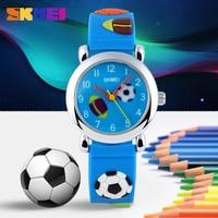 SKMEI Children Quartz Watch Fashion Casual Sports Watches Wristwatches Ladies Jelly Kids Clock Boys Girls Students