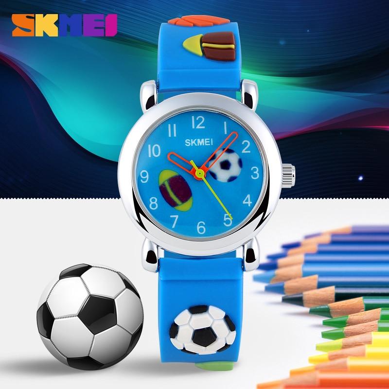 SKMEI Children Quartz Watch Fashion Casual Sports Watches Wristwatches Ladies Jelly Kids Clock Boys girls Students Wrist watch