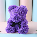Rose Flower Artificial Red Teddy Bear For Birthday Gifts Valentine's Day Gift Plush Rose Bear Creative Gifts Toys for Girlfriend