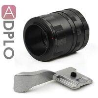 Pixco костюм для Fujifilm Макро Удлинитель X-Pro 1 X-E1 X-M1 Fuji FX X Крепление камеры + ручка для большого пальца (серебро)