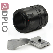 Pixco Macro Suit tubo de extensão para Fujifilm X – Pro 1 Fuji X-E1 X-M1 FX X monte Camera + Thumb Up aperto ( silver )