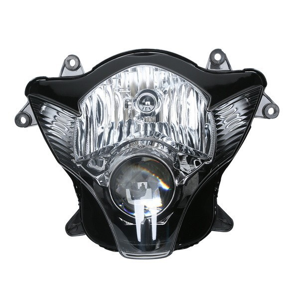Motorcycle Front HeadLight Head Light Lamp Assembly For Suzuki GSXR600 GSXR750 2006 2007 0607 new motorcycle ram air intake tube duct for suzuki gsxr600 gsxr750 2006 2007 k6 abs plastic black