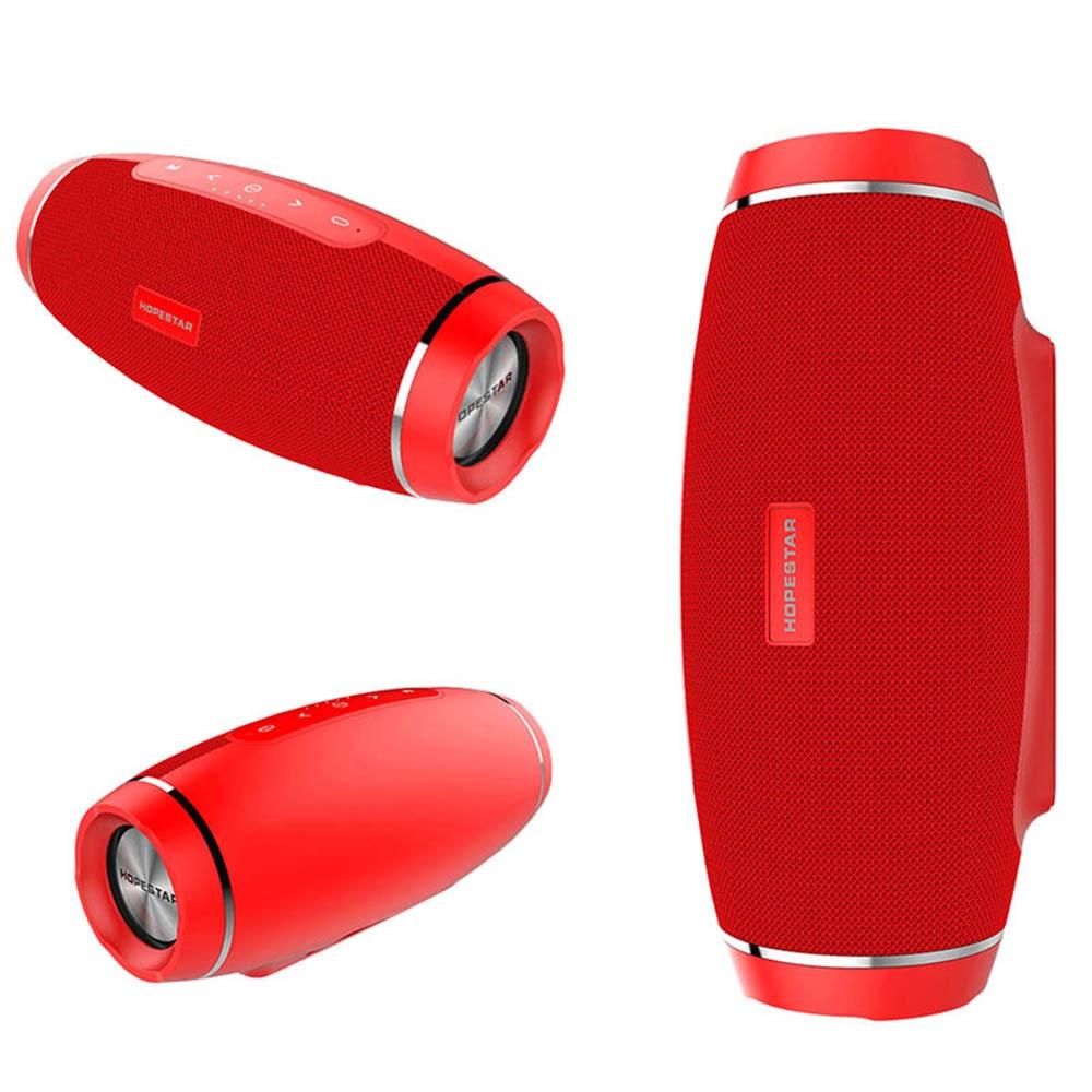 HOPESTAR H27 Mini Wireless Bluetooth Speaker Waterproof Subwoofer Altavoces Bluetooth Speakers with USB TF Card Mp3 Music Player mini usb rechargeable bluetooth v2 1 edr mp3 player music speaker w tf black