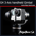 Feiyu Tech G4 Newest Gold Color 3 axis handheld gimbal Steadycam Gimbal for gopro3 / 3 + / 4  Feiyu G4 Gimbal  Free Shipping