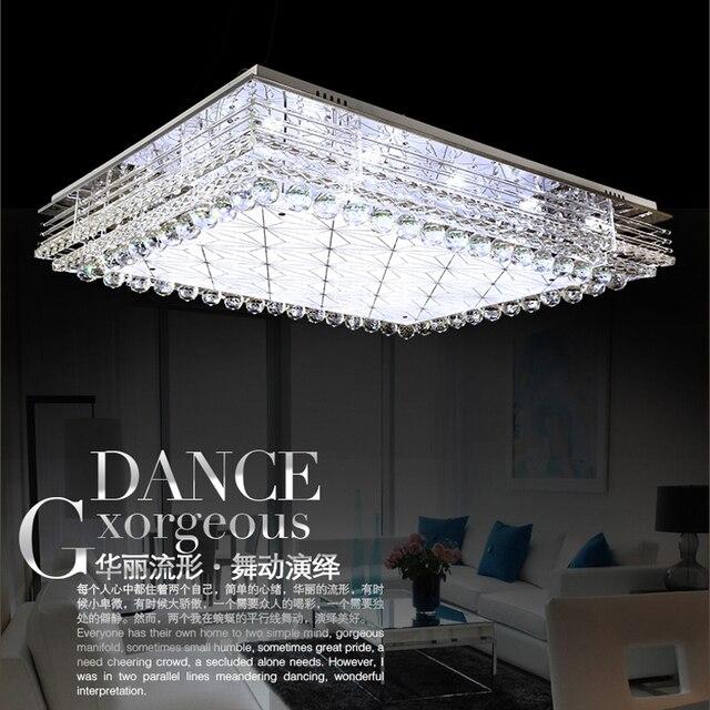 Led Decken Modernen Minimalistischen Wohnzimmer Atmosphre Rechteckigen Deckenleuchte Kristall Lampen