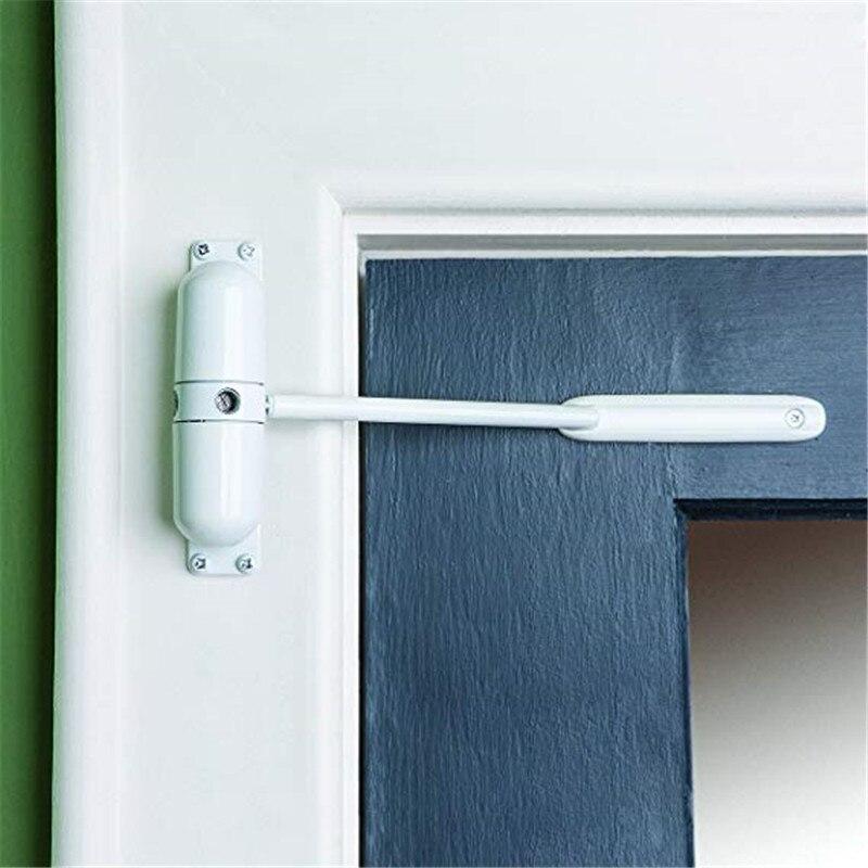 A superfície ajustável branca da liga de zinco 20-70 kg montou o fogo mais próximo da porta de fechamento automático da mola avaliou a ferragem da porta da rolha da porta