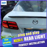 Car Styling for Mazda 6 LED Taillights 2004-2013 Mazda6 Tail Light Rear Lamp DRL+Brake+Park+Signal