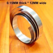 1M Battery spot welding Nickel-plated steel belt connecting piece 18650 battery Nickel plated 0.15mm thick * 12MM wide